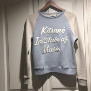 'Kitsune Institute of Music' sweatshirt XS